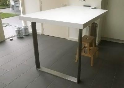 Intia meubelmakerij tafel corian