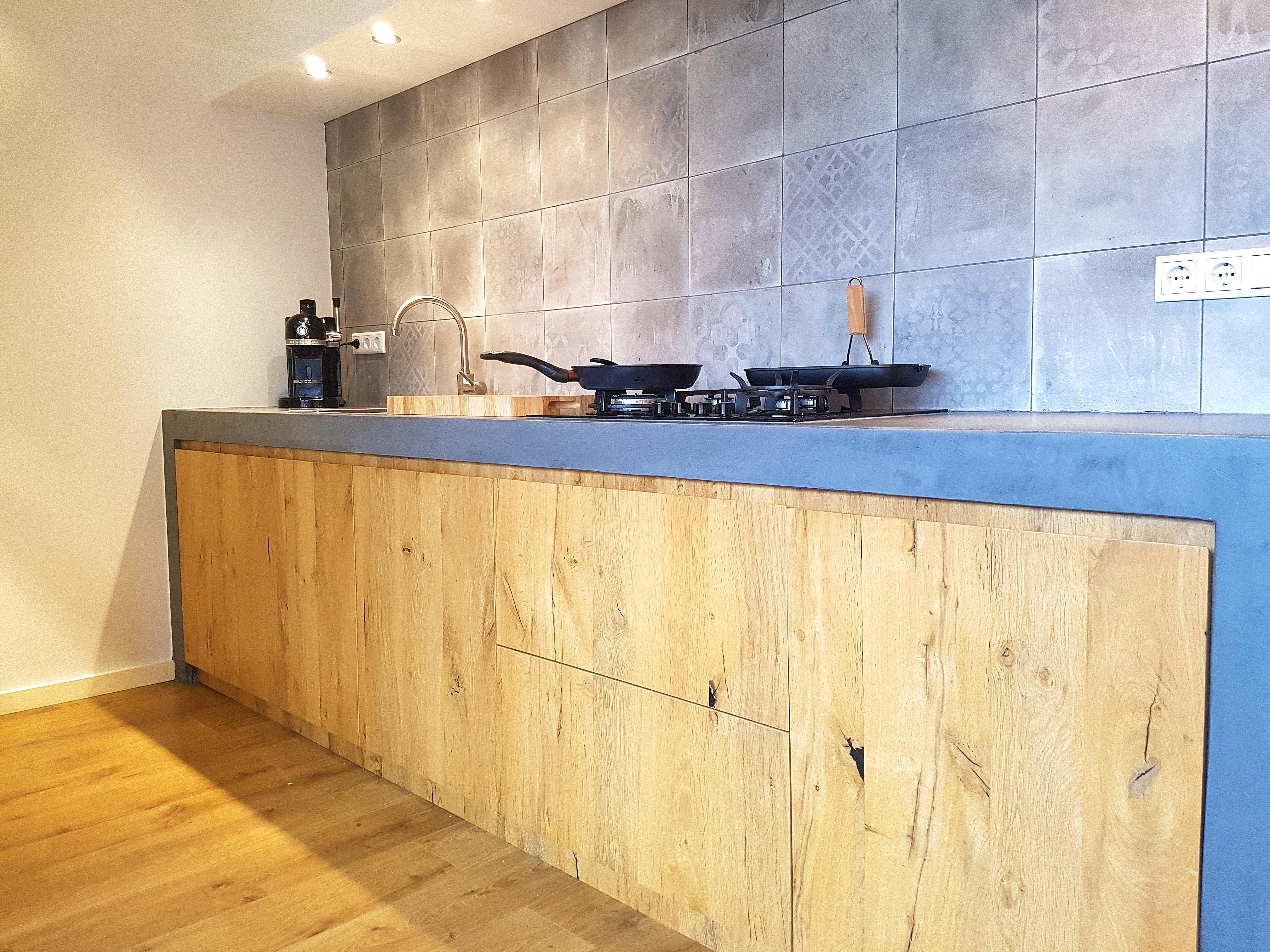 Keuken Met Beton : Beton cire keuken beton ciré centrum