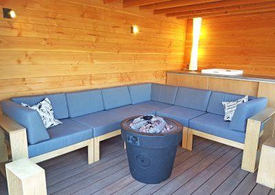 Intia tuin lounge