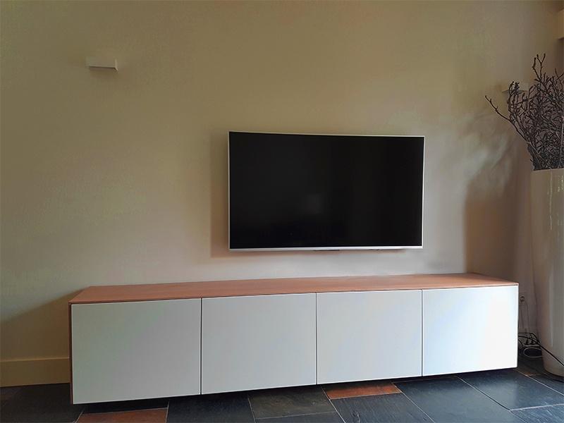 Modern Tv Meubel : ≥ modern tv meubel van teakhout cm breed indoteak kasten