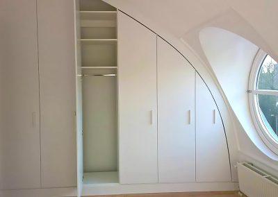 Intia interieurbouw ronde kast