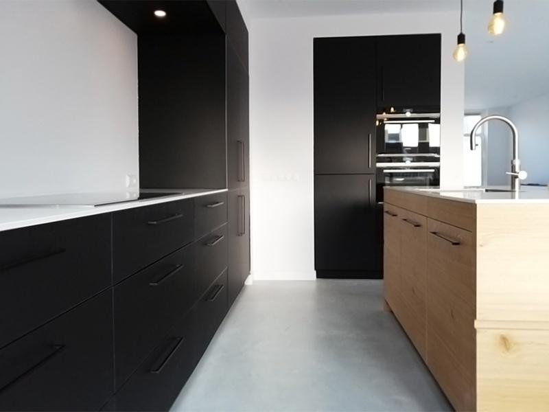 Keuken Eiken Zwart : Keukens goedkoop bij keukenloods